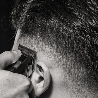 Coupe entretien à la tondeuse - The Barber Company