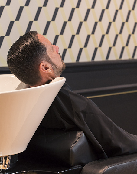 Relaxation tête complète - The Barber Company