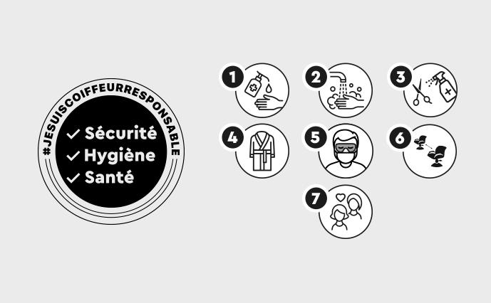 Hygiène & Santé #JeSuisCoiffeurResponsable