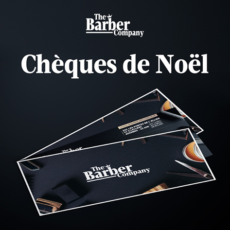 cheque cadeau - the barber company